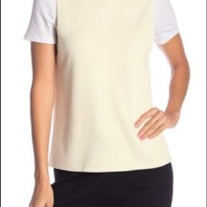 360 Cashmere Luella Turtleneck Tank Top